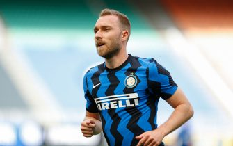 Christian Eriksen (FC Internazionale) during Inter - FC Internazionale vs Udinese Calcio, Italian football Serie A match in Milan, Italy, May 23 2021