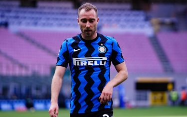 Christian Eriksen (FC Inter) during the Italian championship Serie A football match between FC Internazionale and UC Sampdoria on May 8, 2021 at Giuseppe Meazza stadium in Milan, Italy - Photo Morgese-Rossini / DPPI / LiveMedia