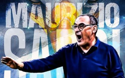 Sarri nuovo allenatore della Lazio, firma biennale