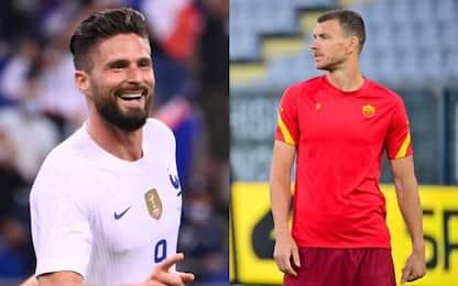 Milan, idea Dzeko in alternativa a Giroud