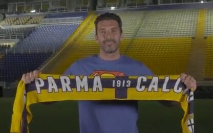 """Il Parma annuncia Buffon: """"Superman è tornato"""""""