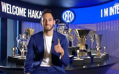 """Calhanoglu: """"Felice all'Inter, voglio lo scudetto"""""""