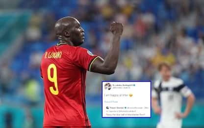 """Lukaku: """"Io al City? No, sono felice all'Inter"""""""