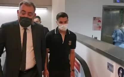 Milan, è arrivato Brahim Diaz: VIDEO e FOTO
