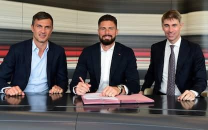 Milan, ufficiale l'acquisto di Giroud
