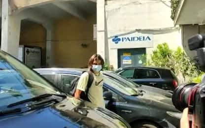 Lazio, iniziate le visite di Luka Romero