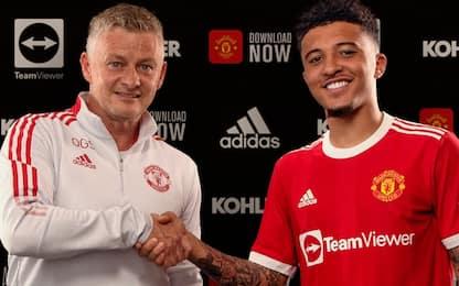 Sancho al Manchester United, ora è ufficiale