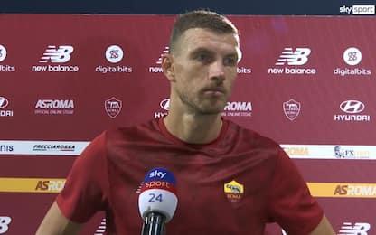 """Dzeko: """"Stanco del mercato, penso solo alla Roma"""""""