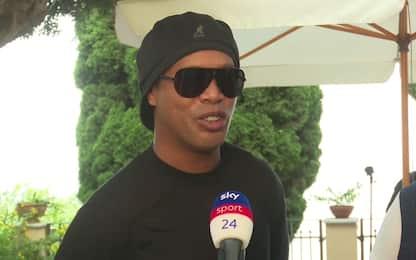 "Ronaldinho: ""Dybala? Importante che sia felice"""