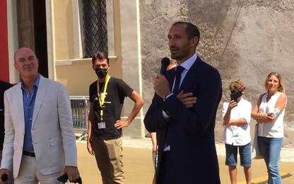 """Chiellini premiato: """"Ma voglio alzare altre coppe"""""""