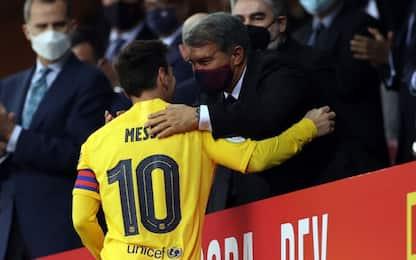 """Laporta: """"Messi vuole Barça, Liga sia flessibile"""""""