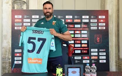"""Sirigu: """"Al Genoa per essere ancora importante"""""""
