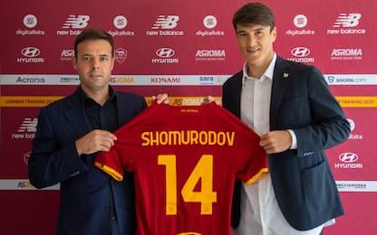 Roma, ecco Shomurodov: ha firmato fino al 2026