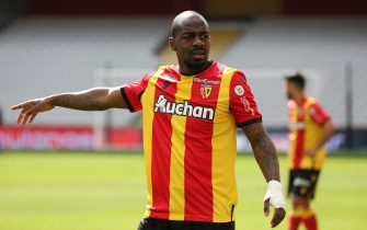 Gael Kakuta 10 RC Lens during the French championship Ligue 1 football match between RC Lens and FC Lorient at the Bollaert-Delelis Stadium in Lens, North of France on April, 11th, 2021. //SANSONLAURENT_1.0741/2104120932/Credit:LAURENT SANSON/SIPA/2104120934