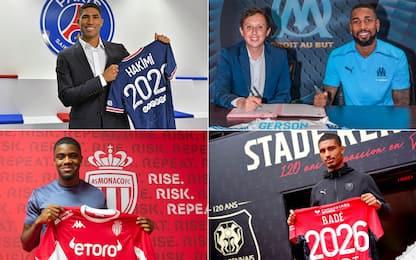 Non solo Hakimi: i colpi più costosi della Ligue 1