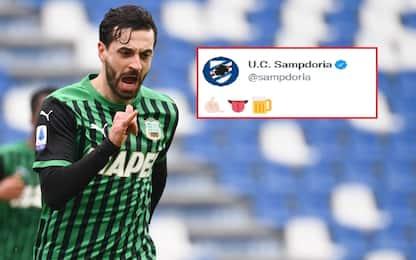 Sampdoria, rinforzo last minute: arriva Caputo