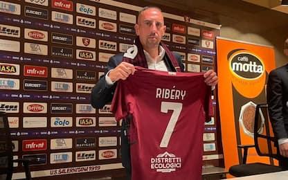 """Delirio Ribery: """"A Salerno già mi sento a casa"""""""