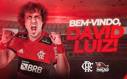 David Luiz trova squadra: ripartirà dal Flamengo