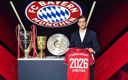Bayern Monaco, Goretzka rinnova fino al 2026