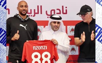 Nzonzi lascia la Roma: va in Qatar all'Al Rayyan