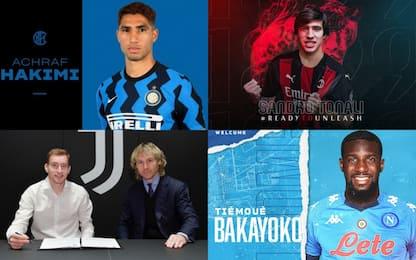 Tutti gli acquisti ufficiali in Serie A