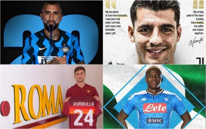 Tutti gli acquisti ufficiali finora in Serie A