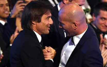 Conte, Zidane & Co: gli allenatori sul mercato