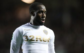 LEEDS, ENGLAND - AUGUST 09: Vurnon Anita of Leeds United during the Carabao Cup First Round match between Leeds United and Port Vale at Elland Road on August 9, 2017 in Leeds, England. (Photo by Robbie Jay Barratt - AMA/Getty Images)