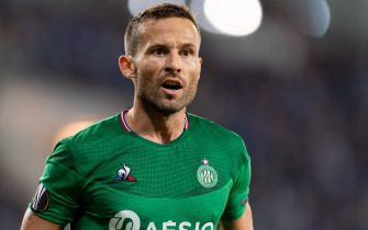 GENT, BELGIUM - SEPTEMBER 19: Yohan Cabaye of AS Saint-Etienne looks on during the UEFA Europa League group I match between KAA Gent and AS Saint-Etienne at Ghelamco Arena on September 19, 2019 in Gent, Belgium. (Photo by TF-Images/Getty Images)