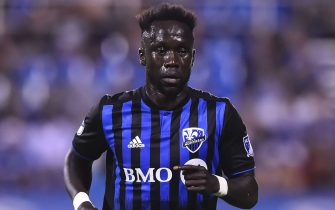 MONTREAL, QC - JULY 06:  Bacary Sagna #33 of the Montreal Impact runs against Minnesota United FC during the MLS game at Saputo Stadium on July 6, 2019 in Montreal, Quebec, Canada.  Minnesota United FC defeated the Montreal Impact 3-2.  (Photo by Minas Panagiotakis/Getty Images)