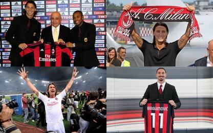 Scudetto, gol e litigi: la storia di Ibra al Milan