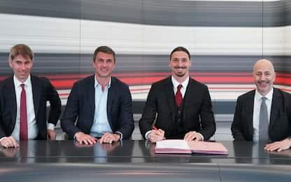 Milan e Ibra ancora insieme: rinnovo fino al 2022