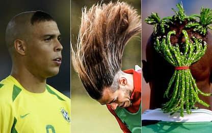 Bale come Blanka: i look più strani del calcio