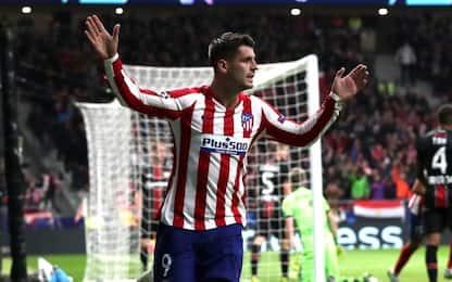 """Morata lancia l'Atletico, Kroos """"salva"""" Zidane"""