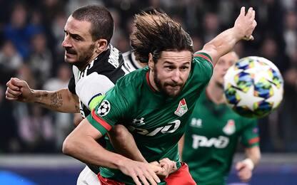 Juventus-Lokomotiv 0-0 LIVE