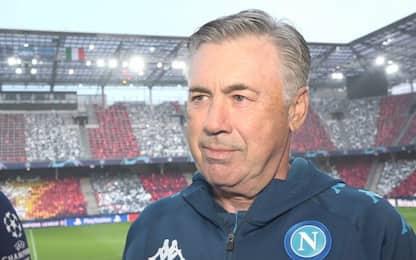 """Ancelotti: """"Screzi passati, il gruppo è sereno"""""""