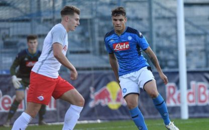 Figuraccia Napoli: 7-2 Salisburgo in Youth League