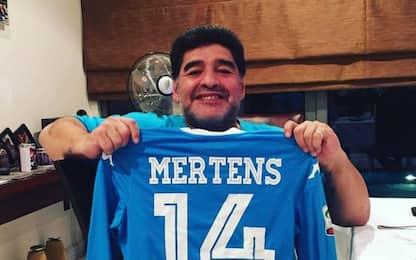 """Diego: """"Bravo Mertens, ora voglio quella maglia"""""""