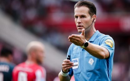 Makkelie per Borussia-Inter: arbitri Champions
