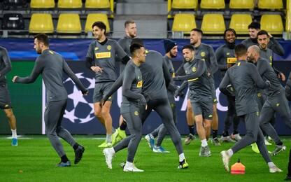 Conte ritrova Sensi, probabili di Inter-Borussia