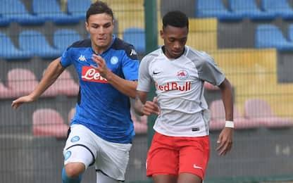 Il baby Napoli crolla ancora, Salisburgo vince 5-1