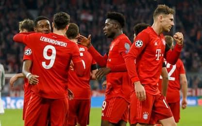 Non solo Juventus, anche Bayern e Psg agli ottavi