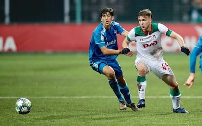 Gioia Juve in Youth League: 0-1 alla Lokomotiv