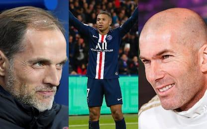 """Zidane: """"Innamorato di Mbappé"""". E Tuchel risponde"""