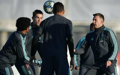 Ronaldo è pronto: le probabili di Juve-Atletico