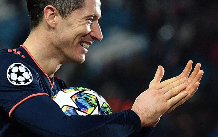 Lewandowski e il poker in Stella Rossa-Bayern