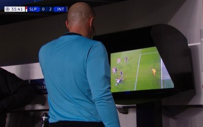 Beffa Inter: da gol a rigore contro col Var. VIDEO