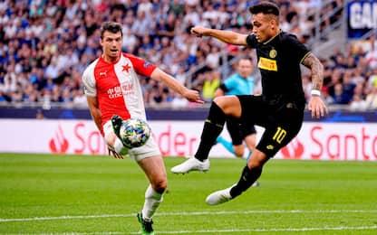 Slavia Praga-Inter, orario e dove vederla in tv