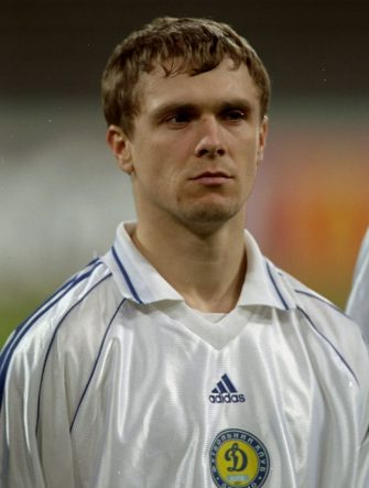7 Dec 1999:  Portrait of Sergi Rebrov of Dynamo Kiev before the Champions League game against Bayern Munich at the Olympia Stadion, Munich, Germany. Bayern Munich won 2 - 1. \ Mandatory Credit: Phil Cole /Allsport