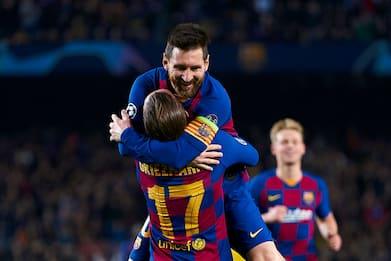 Messi e il gol da record: 34 vittime in Champions